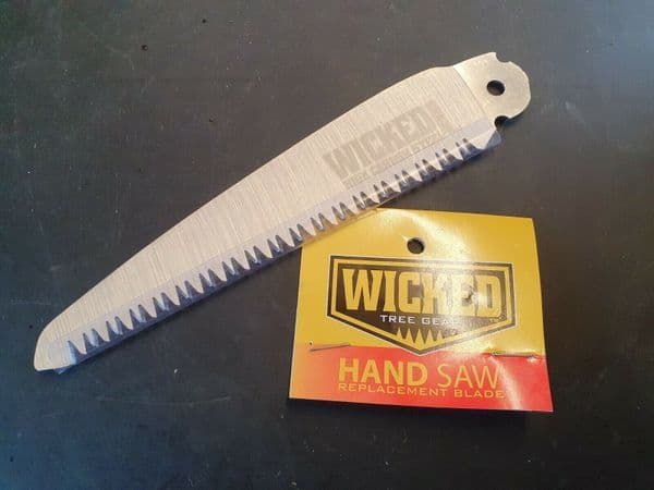 Wicked Tree Gear Tough Hand saw replacement High carbon steel blade